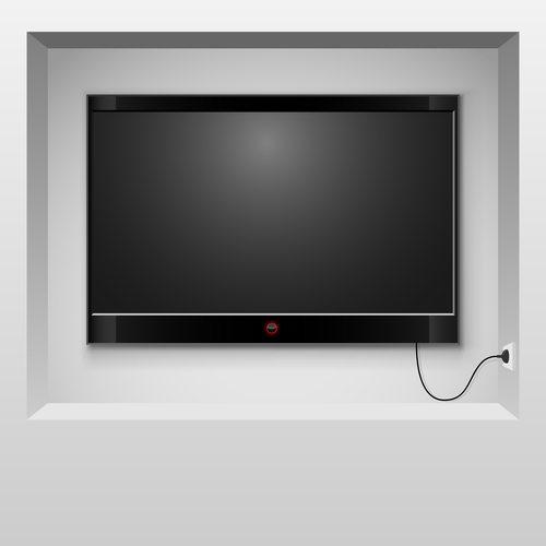 נישת גבס לטלוויזיה