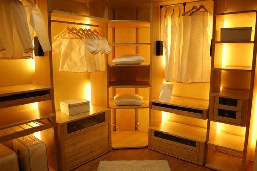 חדרי ארונות מעוצבים