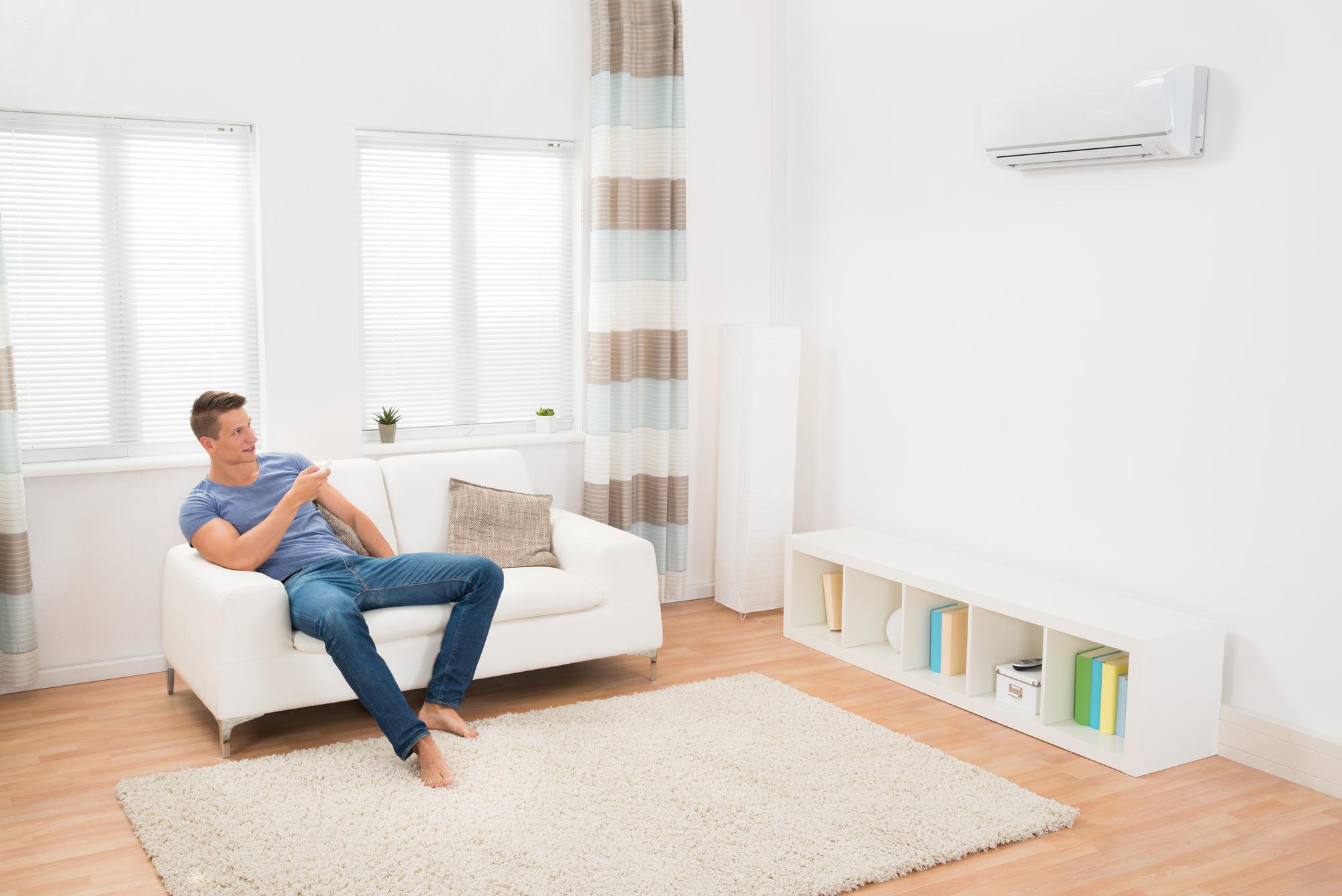 חימום הבית עם מזגן או תנור חימום